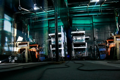Bauhausmaschine auf Seebox bei der Summary 09