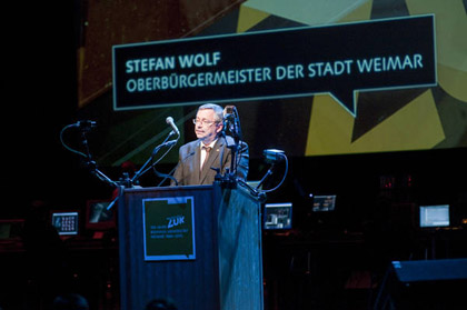 Foto Festakt 150 zur BUW - 1.10.2010 by Hamish Appelby